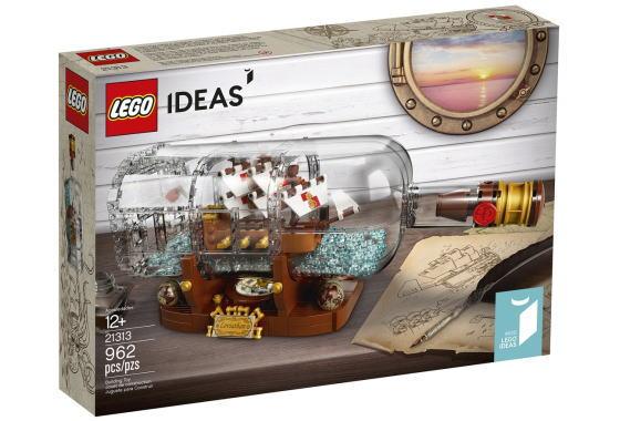 レゴ アイデア 21313 Ship in a Bottle #020