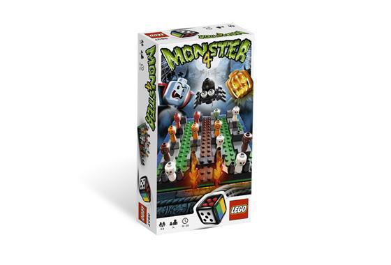 レゴ ゲーム 3837 Monster 4