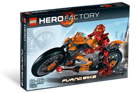 レゴ ヒーローファクトリー 7158 Furno Bike