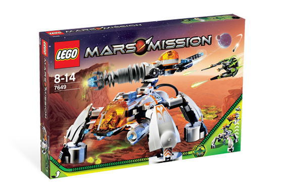 レゴ マーズ・ミッション 7649 MT-201 Ultra-Drill Walker