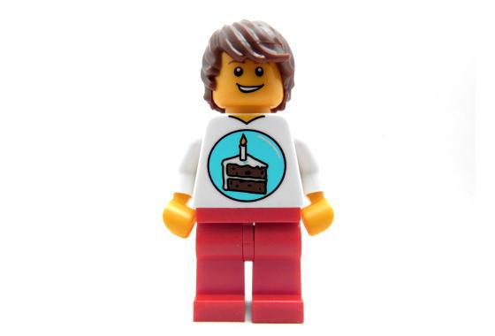 Lego Girl Birthday Cake