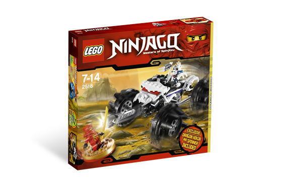 レゴ ニンジャゴー 2518 ヌッカルのATV