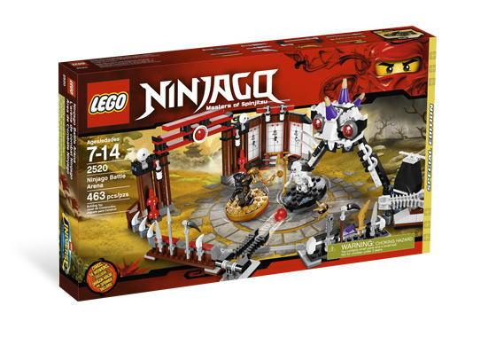 レゴ ニンジャゴー 2520 ニンジャゴー・バトル・アリーナ