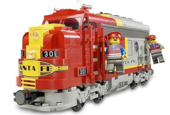 レゴ トレイン 10020 Santa Fe Super Chief