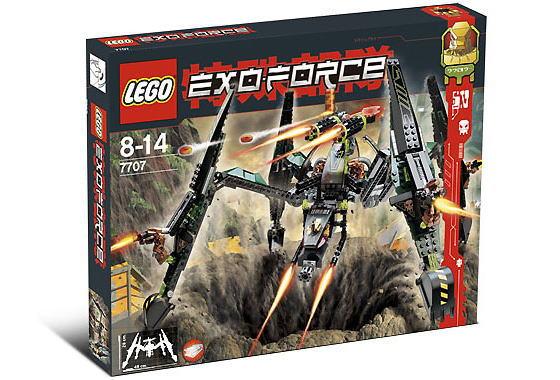 レゴ 特殊部隊 エクソフォース 7707 Striking Venom