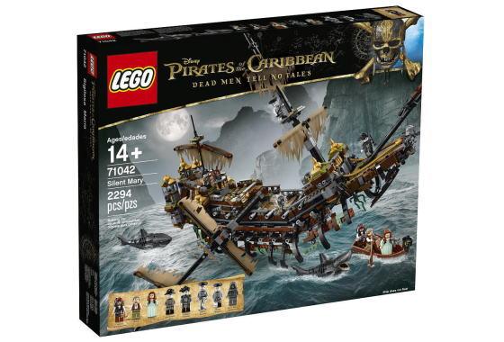 LEGO Pirates of the Caribbean Silent お求めやすく価格改定 国内正規品 71042 Mary パイレーツオブカリビアン レゴ