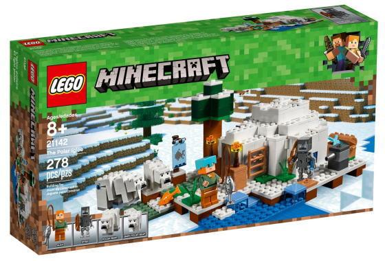 【期間限定】 レゴ 21142 マインクラフト 21142 北極のイグルー レゴ 北極のイグルー, チランチョウ:8336a10b --- lebronjamesshoes.com.co