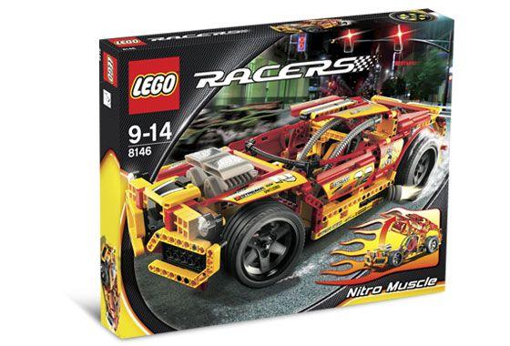 レゴ レーサー 8146 Nitro Muscle
