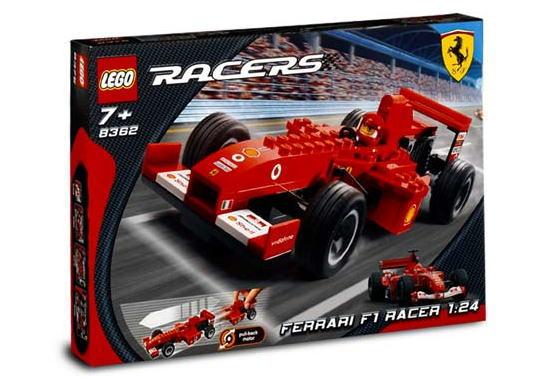 レゴ レーサー 8362 フェラーリF1 レースカー 1/24