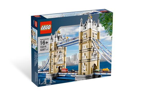 レゴ スカルプチャー 10214 Tower Bridge