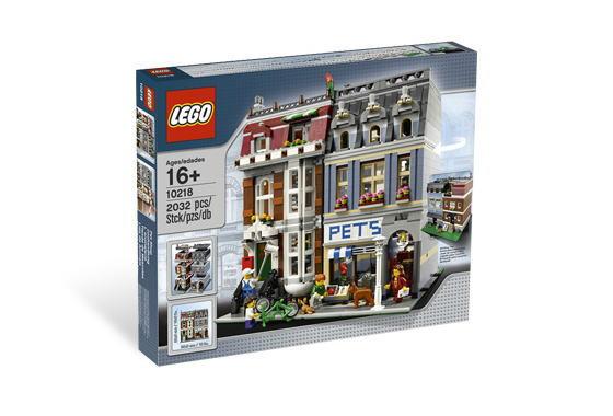 レゴ モジュール 10218 Pet Shop