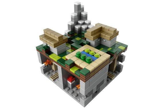 レゴ クーソー 21105 Minecraft Micro World -The Village