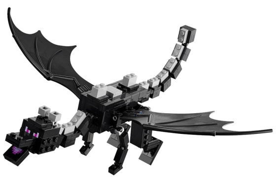 RARE LEGO MINECRAFT ENDER DRAGON FROM SET 21117