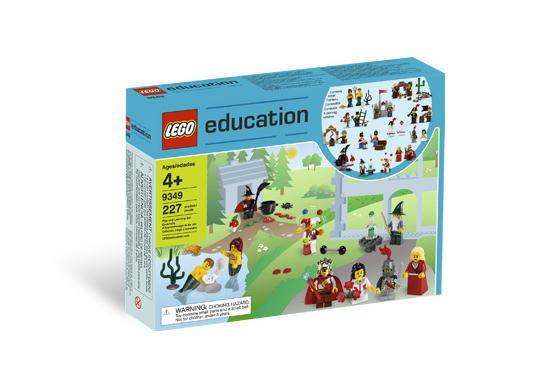 <title>LEGO Educational レゴ ミニフィグ 9349 Fairytale and Historic Minifigure アウトレット Set</title>