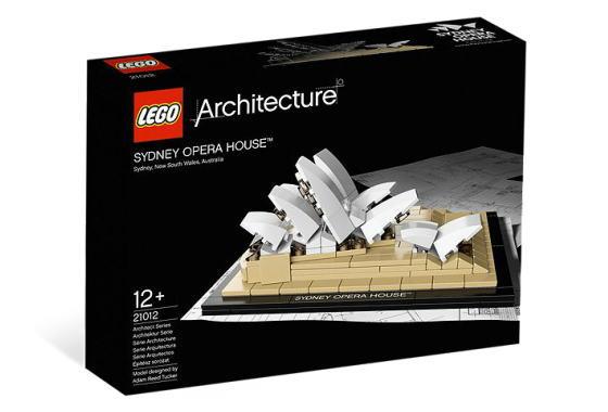レゴ アーキテクチャー 21012 Sydney Opera House