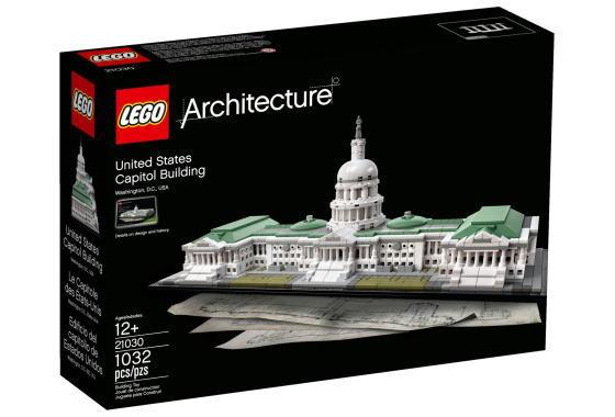 レゴ アーキテクチャー 21030 アメリカ合衆国議会議事堂