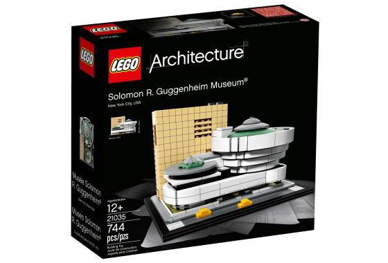レゴ アーキテクチャー 21035 ソロモン・R・グッゲンハイム美術館