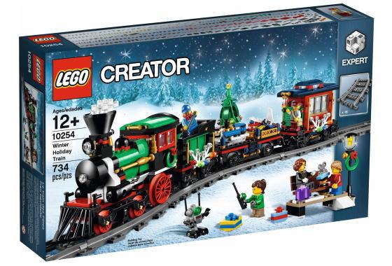 レゴ クリエイター エキスパート 10254 Winter Holiday Train
