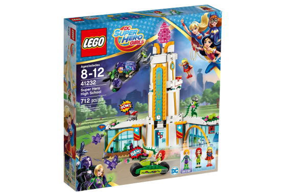 レゴ スーパーヒーローガールズ 41232 スーパーヒーロー ハイスクール