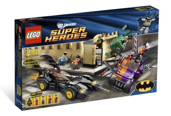 レゴ スーパーヒーローズ 6864 バットモービルとトゥーフェイス・チェイス