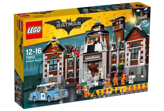 レゴ バットマンムービー 70912 Arkham Asylum