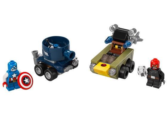 LEGO Minifiguren LEGO Bau- & Konstruktionsspielzeug Lego Super Heroes Figur Red Skull 76065