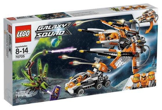 レゴ ギャラクシー・スクワッド 70705 Bug Obliterator