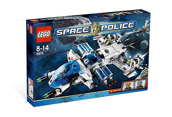 レゴ スペースポリス 5974 Galactic Enforcer