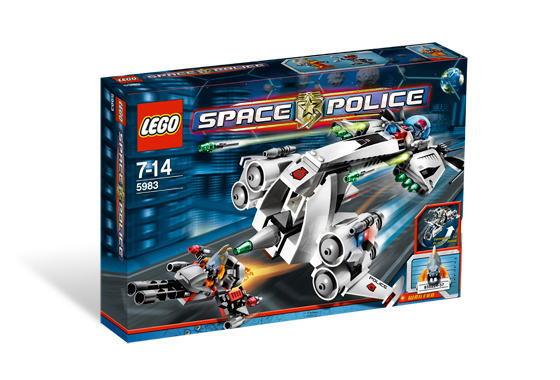 レゴ スペースポリス 5983 Undercover Cruiser