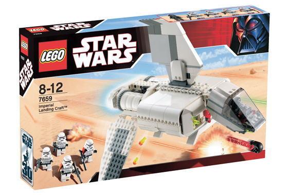 レゴ スターウォーズ 7659 インペリアル・ランディング・クラフト