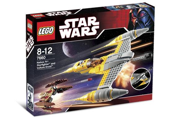 レゴ スターウォーズ 7660 ナブーN-1スターファイターとヴァルチャー・ドロイド