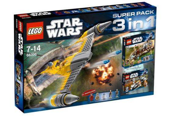 レゴ スターウォーズ 66396 スーパー・パック 2011 (7877, 7929, 7913)
