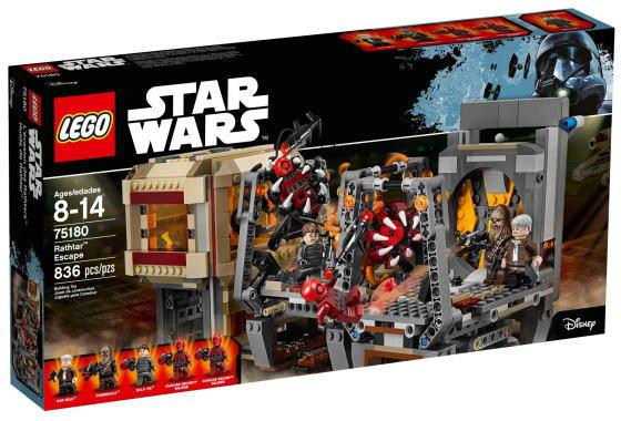 レゴ スターウォーズ 75180 ラスターの脱出