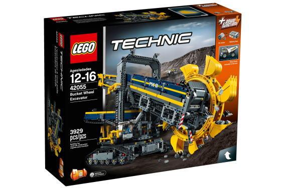 レゴ テクニック 42055 バケット掘削機