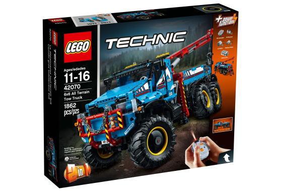 レゴ テクニック 42070 6x6 全地形マグナムレッカー車