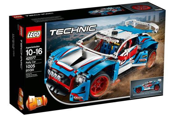レゴ テクニック 42077 ラリーカー