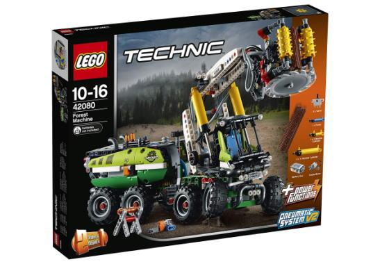 レゴ テクニック 42080 森林作業車