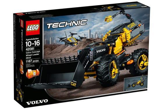 レゴ テクニック 42081 ボルボ コンセプトホイールローダー ZEUX
