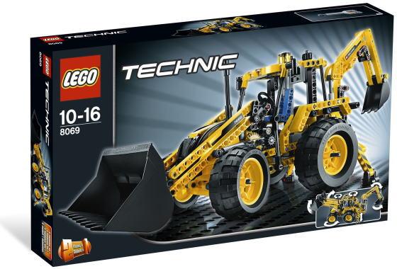 レゴ テクニック 8069 Backhoe Loader
