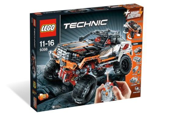 レゴ テクニック 9398 4WDクローラー