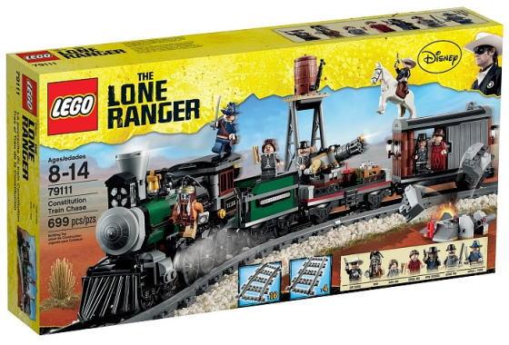 レゴ ローン・レンジャー 79111 トレインチェイス