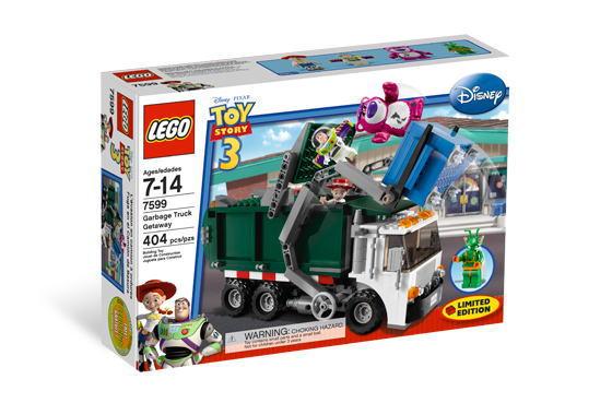 LEGO Toy 40%OFFの激安セール いよいよ人気ブランド Story レゴ トイ Getaway Truck ストーリー Garbage 7599