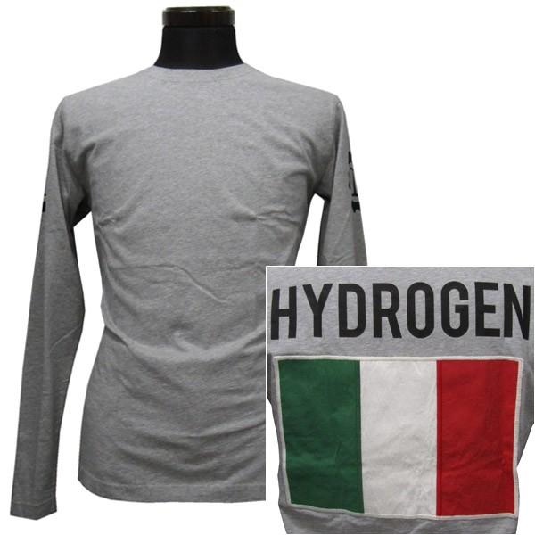 ハイドロゲン HYDROGEN ロングTシャツ メンズ(22011)