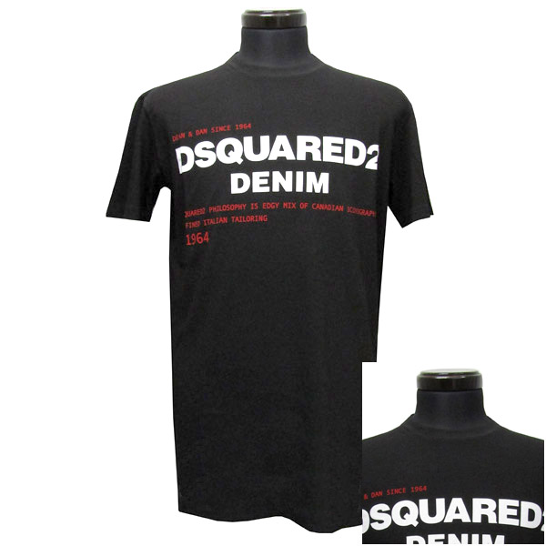 ディースクエアード DSQUARED2 Tシャツ 半袖 メンズ(26008)