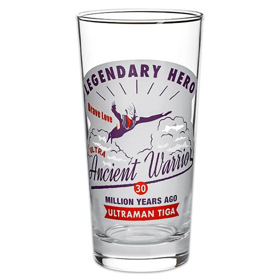 ウルトラマンショップ ショットM78 コップ 舗 グラス タンブラーグラス Seasonal Wrap入荷 たっぷり 《ウルトラマンショップ限定》 ウルトラマンティガ 435ml