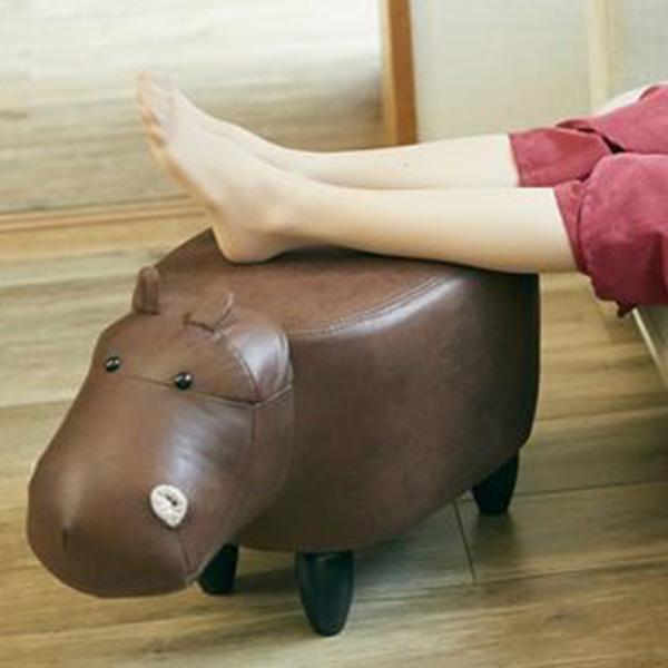 Fantastic Paul Buckwheat Motif Stool Brown Foot Rest A Seat Interior Tiny Animal Hippo En Fance Lamtechconsult Wood Chair Design Ideas Lamtechconsultcom