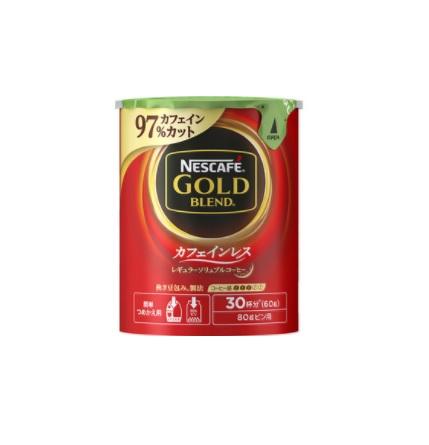 ネスレ ゴールドブレンド カフェインレス エコ&システムパック 60g 【24個】