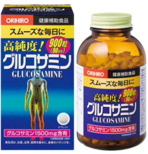 オリヒロ 高純度グルコサミン粒徳用 900粒 24個