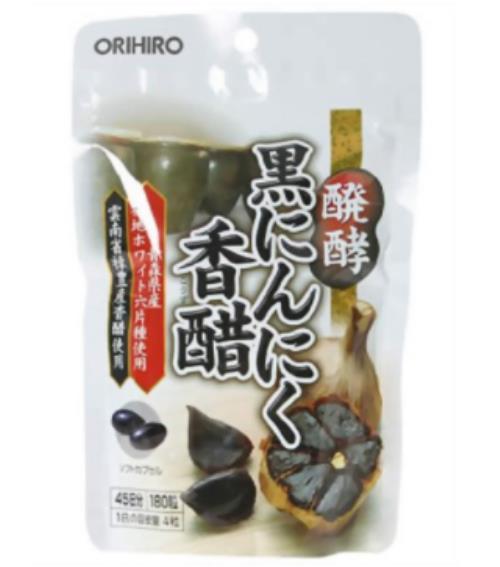 オリヒロ 醗酵黒にんにく香醋 180粒 48個