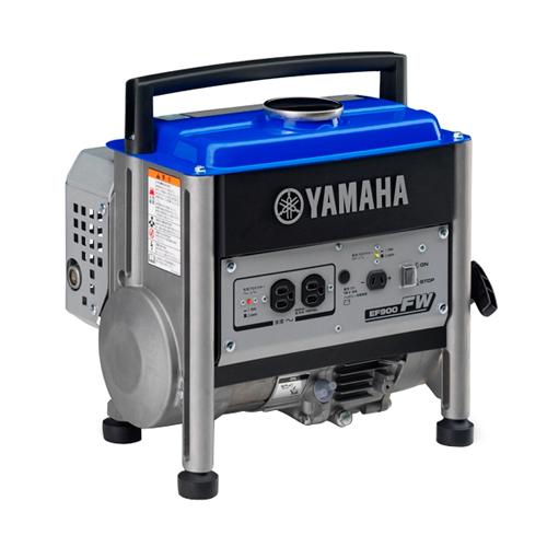 電動工具・発電機・エンジン機器のヤマハ発電機EF900FW。スクエアなデザインのコンパクト設計です。 ヤマハ・発電機50HZ・EF900FW
